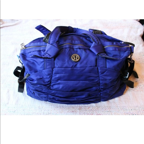 Lululemon Destined for Greatness Ruched Duffle Bag